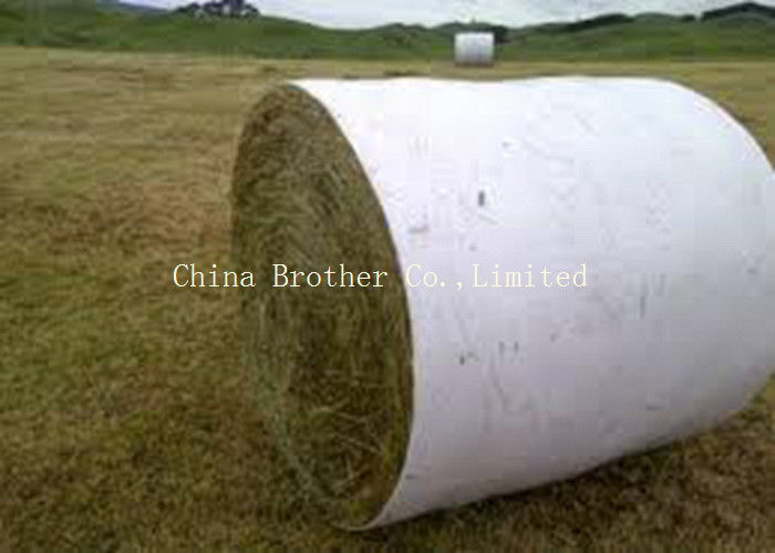 Coated HDPE / PP Woven Fabric White Color Moisture Proof For Building