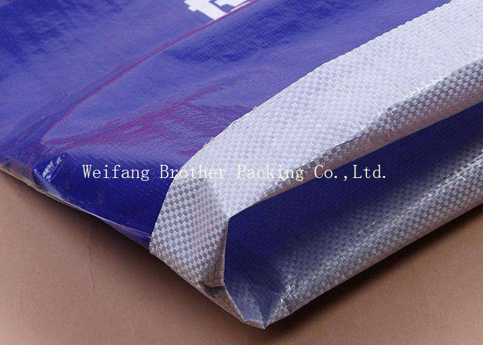Custom Logo Three Composite Paper And Polypropylene Woven Composite Cement Bags